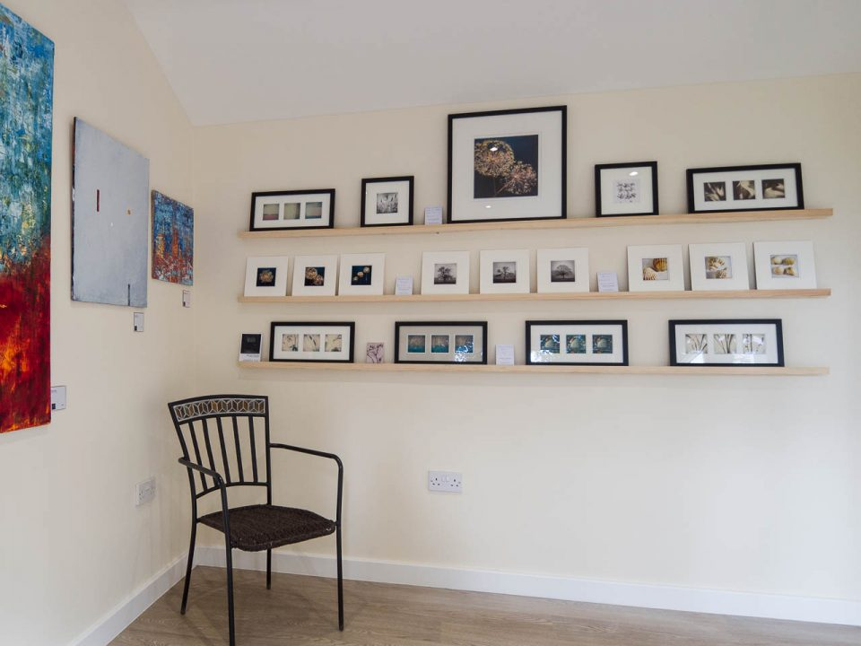 The gallery at Yew Trees Artist Studios